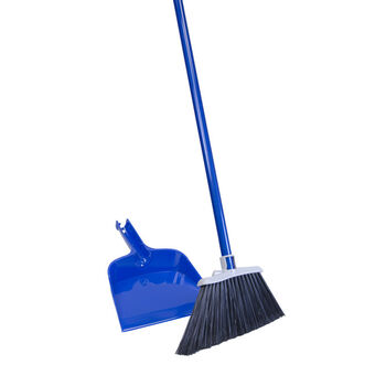 Quickie Broom W/Dust Pan