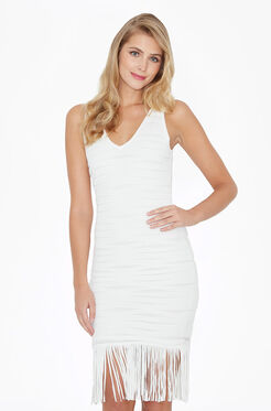 Mae Knit Dress - Ivory