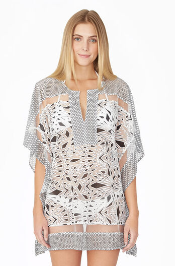 Palm Cover Up - Black