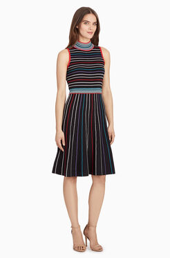 Ailisa Knit Dress - Black