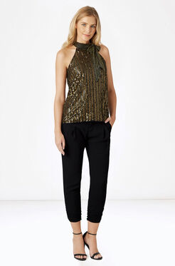 Theia Top - Gold