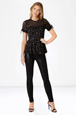 Shannon Top - Black