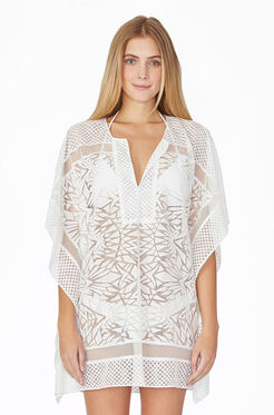 Palm Cover Up - Ivory