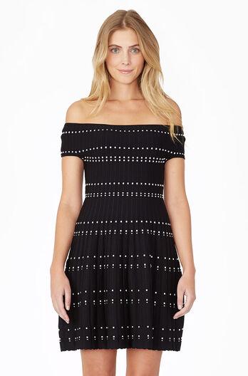 Tricia Knit Dress - Black