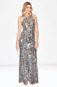 Seanna Dress - Silver