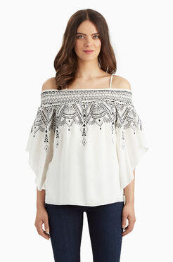 Meilani Blouse - White