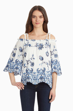 Jillian Blouse - White