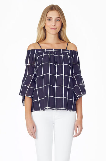 Sloan Blouse - Aquarius