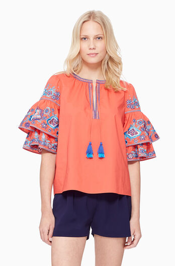 Heather Blouse - Tucan