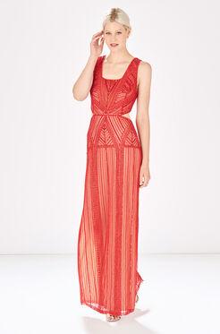Livy Dress - Ruby Red