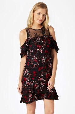 Quinn Combo Dress - Canna