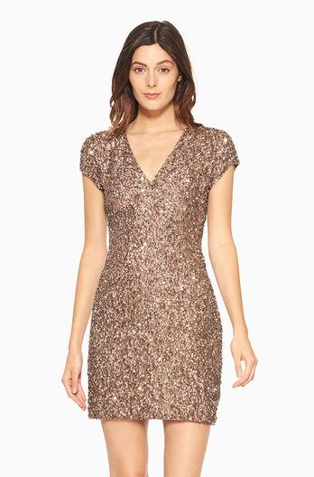 Serena Dress - Mauve