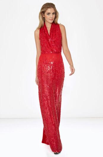 Tatiana Dress - Scarlet
