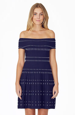 Tricia Knit Dress - Aquarius