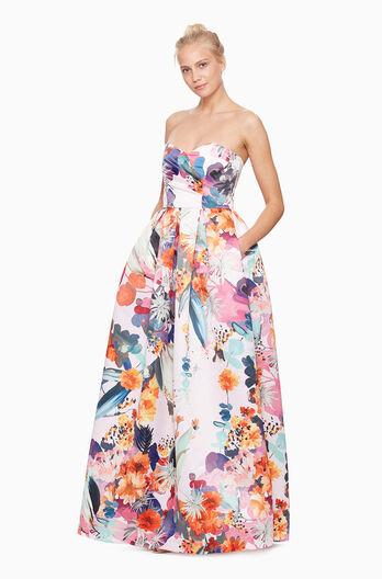 Delilah Dress - Happy Garden