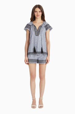 Iman Short - Stripe
