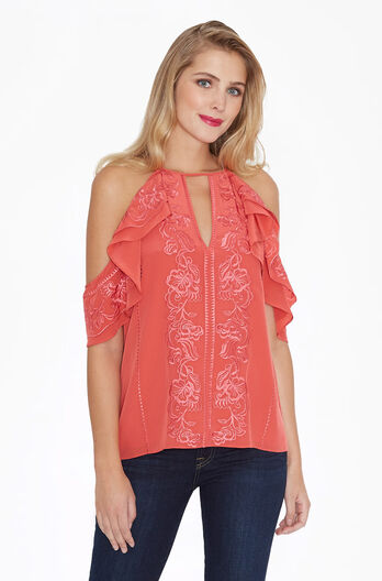 Roma Blouse - Ember