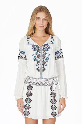 Maeve Dress - Ivory