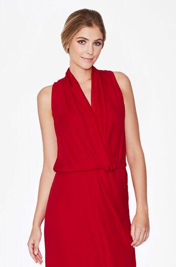 Lagos Dress - Scarlet
