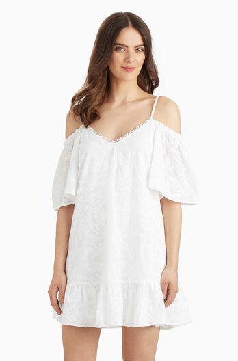 Gretchen Dress - White