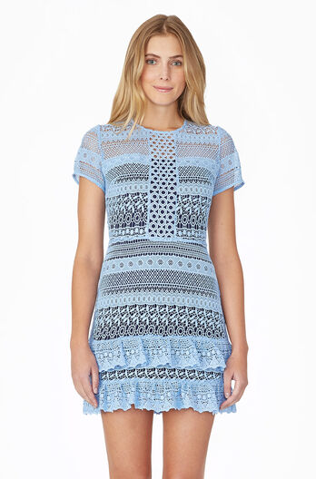 Darcy Dress - Powder Blue