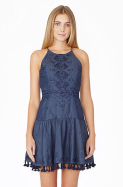 Sandra Dress - Chambray