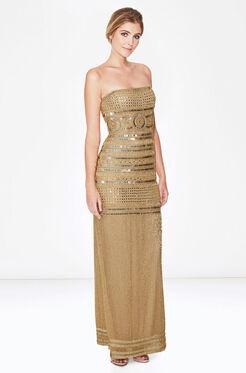 Aubrey Dress - Gold