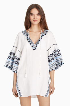 Majorca Cover Up - White