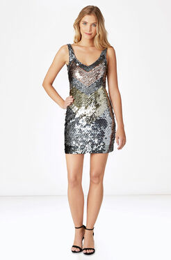 Benny Dress - Metallic
