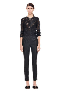 Vegan Leather Pant - Black