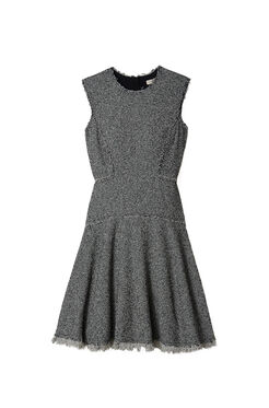 Stretch Tweed Dress