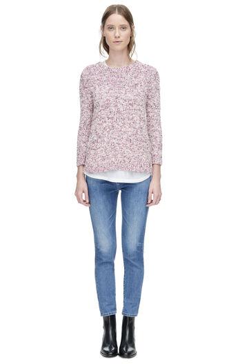 Tweedy Yarn Mix Pullover
