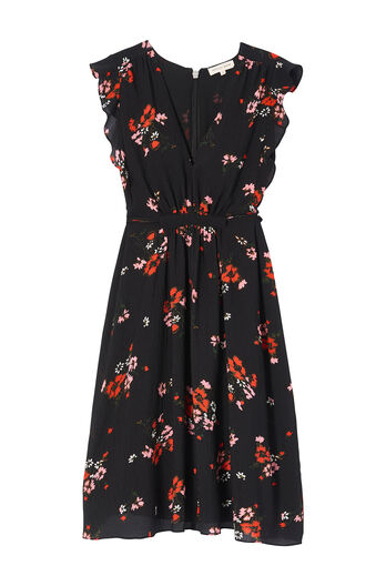 Sleeveless Marguerite Floral Dress