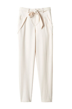Belted Suit Pant