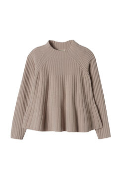 Ribbed Swing Pullover