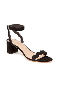 Loeffler Randall Emi Block Heel Sandal - Black