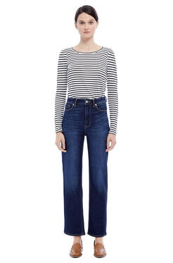 La Vie Anais Denim Jean - Dark Ink Wash