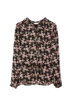 Shadow Floral Top