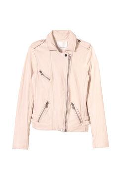 Washed Leather Jacket