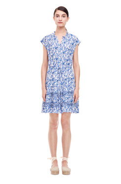 Aimee Shirt Dress - Blue Combo