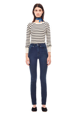 La Vie Clemence Denim Jean - Blackened Indigo Wash