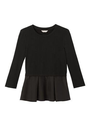 Ruffle Terry Top
