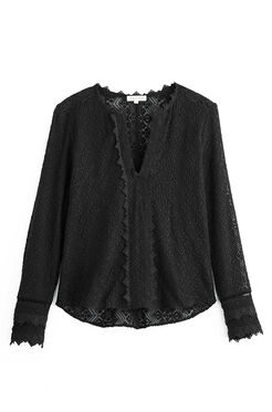 Long Sleeve Florence Embroidered Top