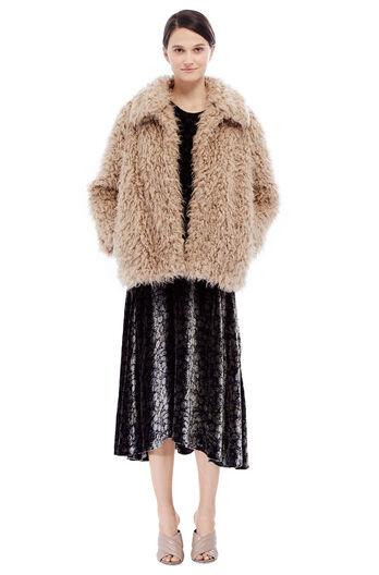 Fluffy Jacket - Caramel