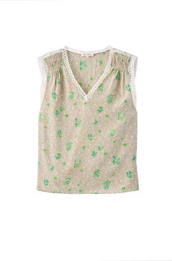 Silk Fleur Top