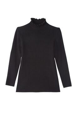 Merino Wool Turtleneck Pullover