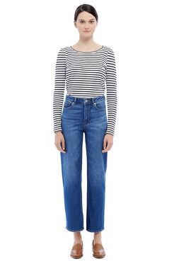 La Vie Anais Denim Jean - Saltwater Wash