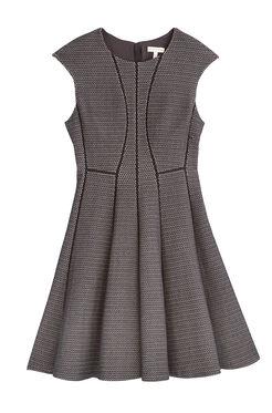 Textured Stretch Knit Dress