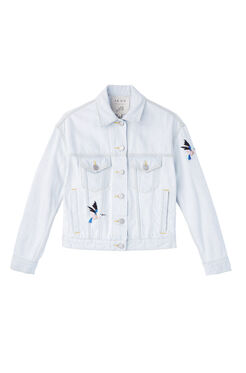 La Vie Bird Patch Jacket