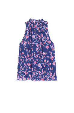 Sleeveless Kyoto Floral Top